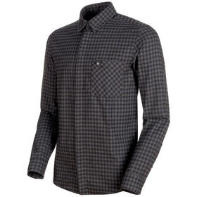 Mammut Winter Longsleeve Shirt Men titanium-phantom
